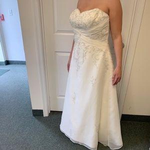 Dresses & Skirts - Lace & Beaded Wedding Dress (Never Worn)